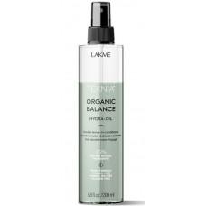 LAKME TEKNIA NEW! ORGANIC BALANCE HYDRA-OIL - Двухфазный несмываемый кондиционер для всех типов волос 200мл