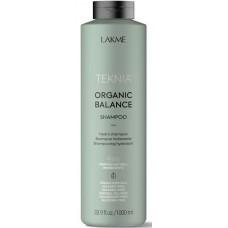 LAKME TEKNIA NEW! ORGANIC BALANCE SHAMPOO - Бессульфатный увлажняющий шампунь для всех типов волос 1000мл