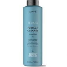 LAKME TEKNIA NEW! PERFECT CLEANSE SHAMPOO - Мицеллярный шампунь для глубокого очищения волос 1000мл