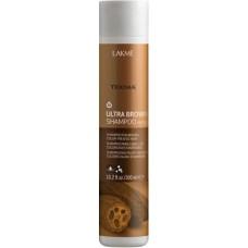 "LAKME TEKNIA Ultra Brown Shampoo - Шампунь для поддержания оттенка ""Коричневый"" 300мл"