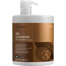 LAKME TEKNIA Ultra Brown Treatment - Средство освежающее цвет коричневых волос 1000мл
