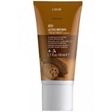 LAKME TEKNIA Ultra Brown Treatment - Средство освежающее цвет коричневых волос 50мл