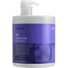 LAKME TEKNIA Ultra Clair Treatment - Средство придающее блеск светлым оттенкам волос 1000мл