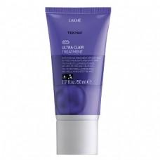 LAKME TEKNIA Ultra Clair Treatment - Средство придающее блеск светлым оттенкам волос 50мл