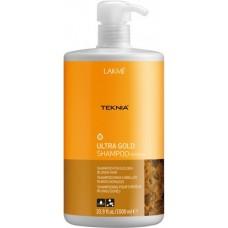LAKME TEKNIA Ultra Gold Shampoo - Шампунь для поддержания оттенка Золотистый 1000мл