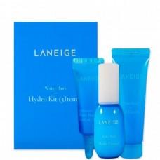 LANEIGE Water bank moisture 3 kit - Набор увлажняющий для всех типов кожи 10 + 10 + 3мл
