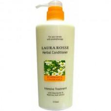 LAURA ROSSE Herbal Conditioner ROSEMARY & CHAMOMILE - Кондиционер растительный для повреждённых и окрашенных волос 510мл
