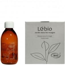 LCbio Set Thé vert et ambre - Набор для лица Зеленый чай и Янтарь (масло макадамии + маски) 200мл + 20шт