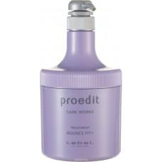 Lebel Proedit Care Works Bounce Fit Plus Treatment - Маска для мягких/очень поврежденных волос 600 мл