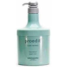 Lebel Proedit Care Works Soft Fit Treatment - Маска для жестких и непослушных волос 600 мл