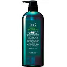Lebel TheO Scalp Shampoo ICE MINT - Шампунь для волос и кожи головы для мужчин 600мл