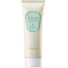 Lebel Trie Powdery Cream 6 - Крем матовый для укладки волос средней фиксаци 80гр