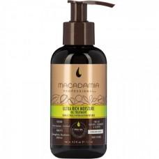 MACADAMIA Professional ULTRA RICH MOISTURE OIL TREATMENT - Масло для сухих и жестких волос 125мл