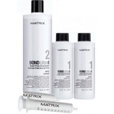 MATRIX BOND Ultim8 Salon Kit - Набор средств для защиты волос (шаг 1 + шаг 2), 2 х 125мл + 1 х 500мл