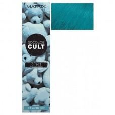MATRIX SOCOLOR CULT DIRECT Dusty Blue - Крем-краска с пигментами для волос ПЫЛЬНЫЙ ГОЛУБОЙ 118мл