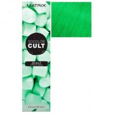 MATRIX SOCOLOR CULT DIRECT Sweet Mint - Крем-краска с пигментами для волос СЛАДКАЯ МЯТА 118мл