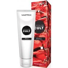MATRIX SOCOLOR CULT DIRECT Red Hot - Крем-краска с пигментами для волос СТРАСТНЫЙ КРАСНЫЙ 118мл