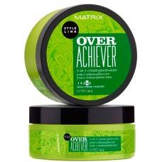 MATRIX STYLE LINK OVER ACHIEVER - Моделирующая паста для укладки волос 3-в-1, 50мл
