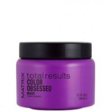 MATRIX total resalts™ COLOR OBSESSED Mask - Маска для защиты цвета окрашенных волос 150мл