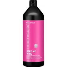 MATRIX total resalts™ KEEP ME VIVID Shampoo - Шампунь для сохранения цвета ярких и лего вымывающихся оттенков 1000мл
