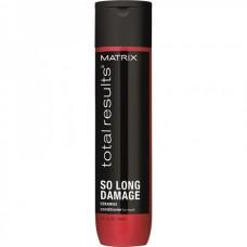 MATRIX total resalts™ SO LONG DAMAGE Conditioner - Кондиционер для восстановления ослабленных волос с керамидами 300мл