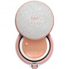 MAY ISLAND Audrey dia pearl cushion #23 Sand begie - Кушон увлажняющий с жемчужной пудрой ПЕСОЧНЫЙ БЕЖЕВЫЙ 15гр