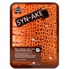 MAY ISLAND Real essence mask pack SYN-AKE - Маска для лица тканевая ЗМЕИНЫЙ ЯД 25мл