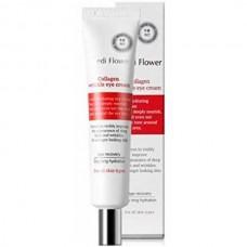 Medi Flower Collagen Wrinkle Eye Cream - Крем для кожи вокруг глаз с КОЛЛАГЕНОМ 40мл