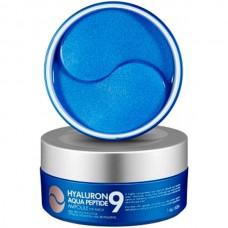 MEDI-PEEL Hyaluron aqua peptide 9 ampoule eye patch - Патчи гидрогелевые увлажняющие с пептидами 60шт