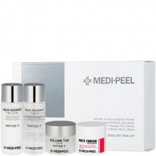 MEDI-PEEL Premium Daily Care Kit - Омолаживающий набор средств с пептидами 15 + 15 + 10 + 10мл