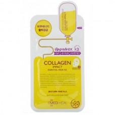 MEDIHEAL Collagen Impact Essential Mask - Маска для лица увлажняющая с МОРСКИМ КОЛЛАГЕНОМ 25мл