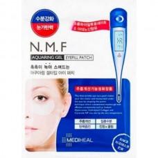 MEDIHEAL N.M.F Aquaring Gel Eyefill Patch - Увлажняющие патчи для кожи вокруг глаз с КЕРАМИДАМИ 2 х 1.5мл