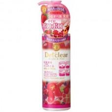 Meishoku Detclear AHA & BHA Fruits Peeling Jelly - Фруктовый пилинг-гель с AHA и BHA с эффектом скатывания с ароматом ЯГОД 180мл