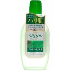 Meishoku GREEN Plus Aloe Lotion - Лосьон увлажняющий для ухода за сухой кожей с АЛОЭ 170мл