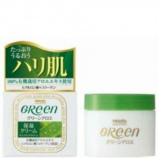 Meishoku Green plus Aoe Moisture Cream - Крем увлажняющий для сухой кожи лица с АЛОЭ 48гр
