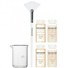 Miriamquevedo BLACK BACCARA Bond Rejuvenating Luxe Cure - Набор Омолаживающая люкс-терапия для волос с экстрактом розы Блэк Баккара 4 х 20мл