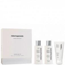 Miriamquevedo GLACIAL WHITE CAVIAR Global Rejuvenation Set - Набор для омоложения и глубокого восстановления (Шампунь + маска + крем) 2 х 100 + 50мл