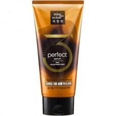 mise en scene perfect serum 3min Salon Mask Pack - Восстанавливающая маска для волос с РАСТИТЕЛЬНЫМИ МАСЛАМИ 300мл