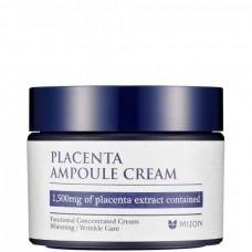 MIZON Placenta Ampoule Cream - Крем для лица Антивозрастной с ПЛАЦЕНТОЙ 50мл