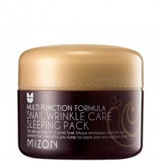 MIZON Snail Wrinkle Care Sleeping Pack - Маска для лица Ночная с МУЦИНОМ УЛИТКИ 80мл