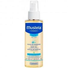 Mustela Bébé Huile de Massage - Массажное для новорожденных, младенцев и детей 100мл
