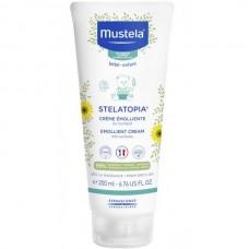 Mustela Bébé Stelatopia Creme Emolliente - Крем-эмолент для детской кожи Защитный 200мл