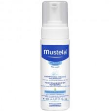 Mustela Bebe Foam Shampoo for Newborns - Шампунь-пенка для новорожденных от Молочных корочек 150мл