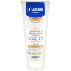Mustela Bebe Nourishing Lotion with Cold Cream - Питательное молочко для тела с Кольд-кремом 200мл