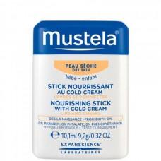 Mustela Bebe Nourishing Stick With Cold Cream - Питательный карандаш с Кольд-кремом 10,1мл