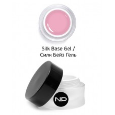 nano professional Gel - Гель базовый Silk Base Gel 5мл