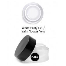 nano professional Gel - Гель для моделирования на форме White Profy Gel 5мл