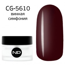 nano professional Gel - Гель классический цветной CG-5610 винная симфония 5мл