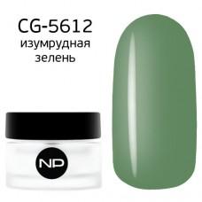 nano professional Gel - Гель классический цветной CG-5612 изумрудная зелень 5мл