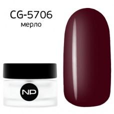 nano professional Gel - Гель классический цветной CG-5706 мерло 5мл